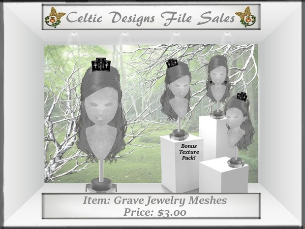 CD Grave Jewelry Meshes