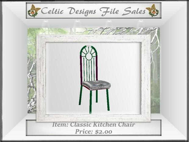 CD Classic Kitchen Chair