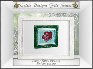 CD Rose Frame