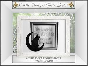 CD Wolf Frame Mesh