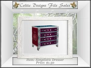 CD Simplistic Dresser