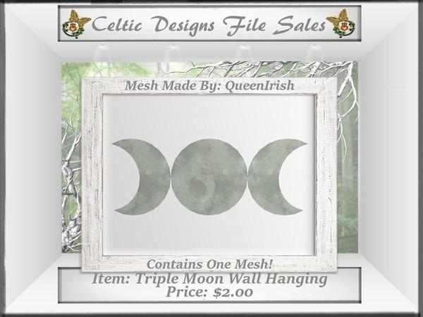 CD Triple Moon Wall Hanging Mesh