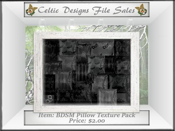 CD BDSM Pillow Texture Pack