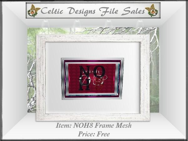 CD NOH8 Frame Mesh