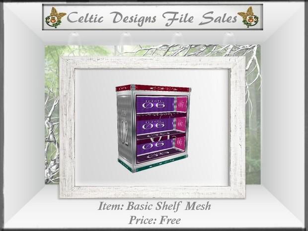 CD Basic Shelf Mesh