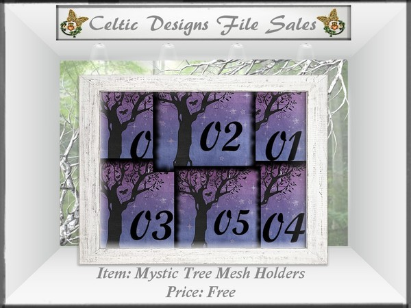 CD Mystic Tree Mesh Holders