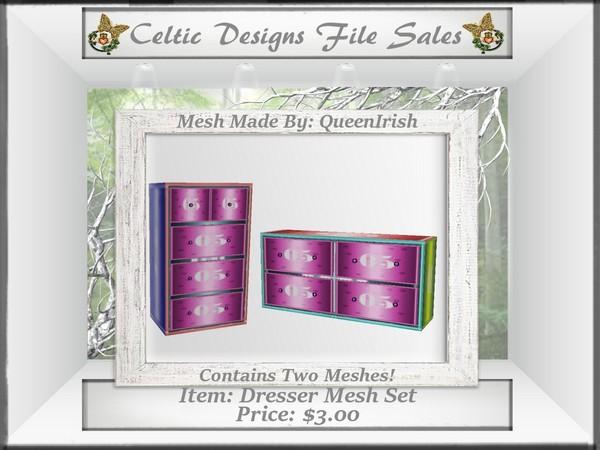 CD Dresser Mesh Set