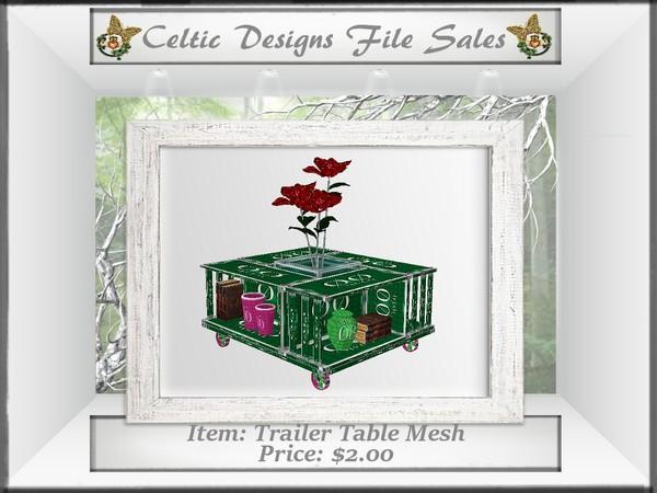 CD Trailer Table Mesh