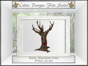 CD Haunted Tree Mesh