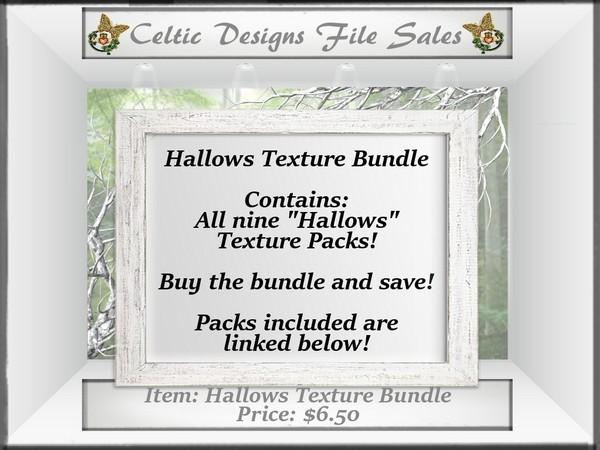 CD Hallows Texture Bundle