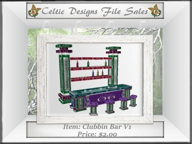 CD Clubbin Bar Version One