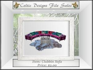 CD Clubbin Sofa