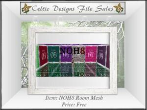 CD NOH8 Room Mesh