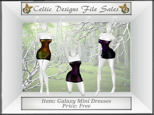 CD Galaxy Mini Dresses