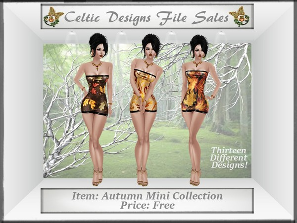 CD Autumn Mini Dress Collection