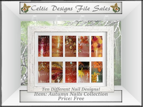 CD Autumn Nails Collection