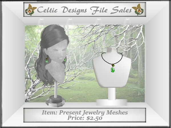 CD Present Jewelry Meshes