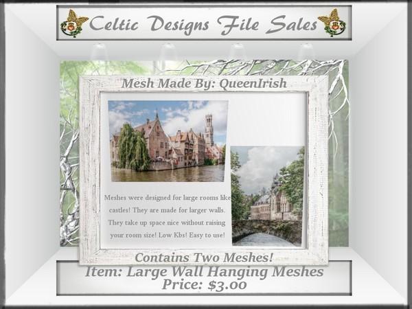 CD Castle Canvas Mesh Collection