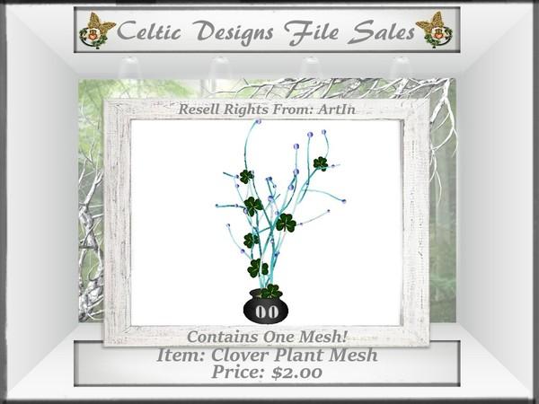 CD Clover Plant Mesh