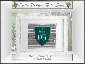 CD Heart Art V1 Mesh