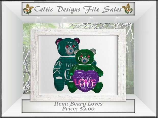 CD Beary Loves