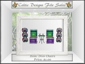 CD Divo Club Chairs