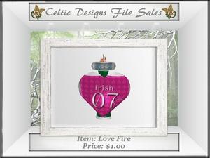 CD Love Fire