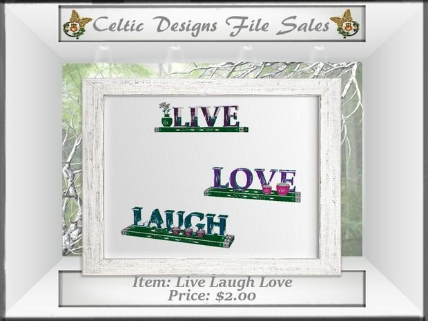 CD Live Laugh Love