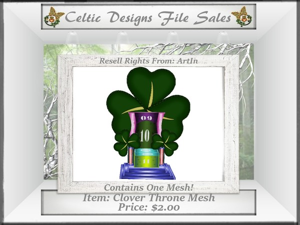 CD Clover Throne Mesh