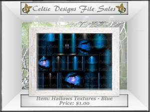 CD Hallows Textures - Blue