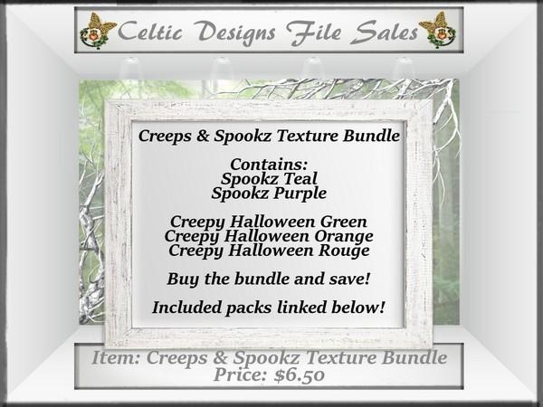 CD Creeps & Spookz Texture Bundle