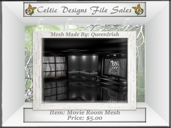 CD Movie Room Mesh