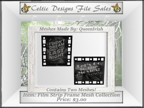 CD Film Strip Frame Mesh Collecion