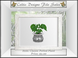 CD Classic Potted Plant