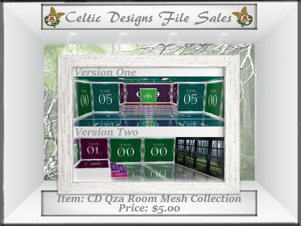 CD Qza Room Mesh Collection