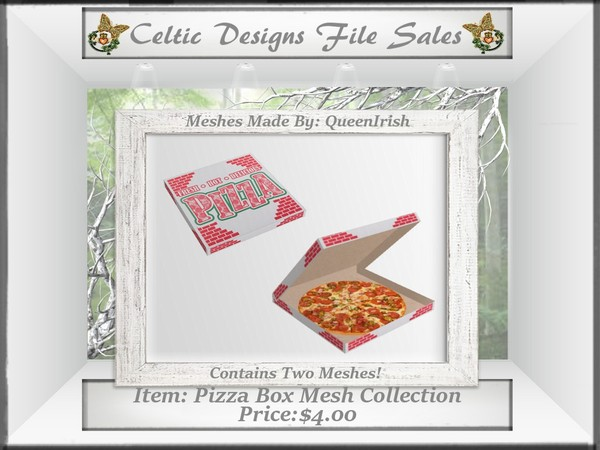 CD Pizza Box Mesh Collection
