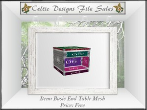 Basic End Table Mesh