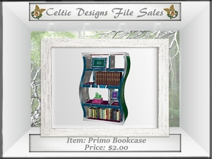 CD Primo Bookcase