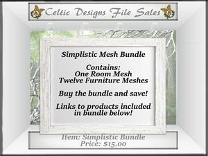 CD Simplistic Mesh Bundle