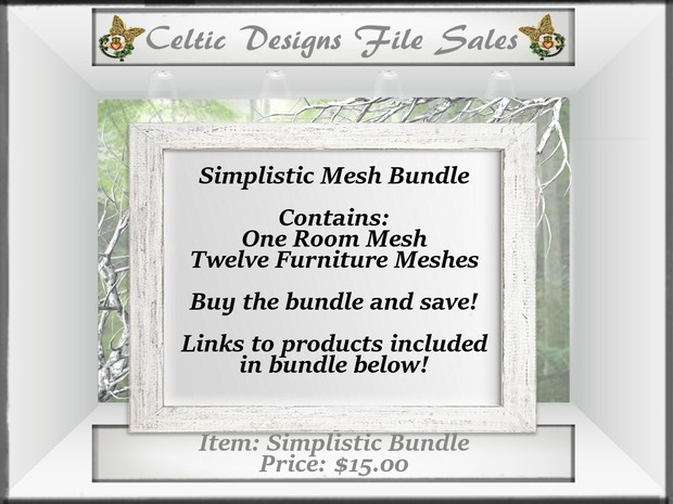 CD Simplistic Mesh Bundle