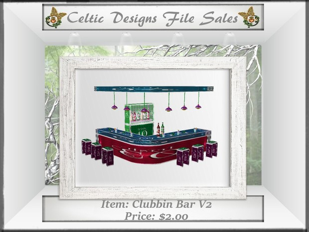 CD Clubbin Bar Version Two