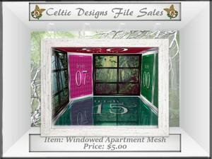 CD Windowed Apartment Mesh