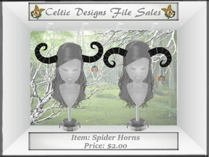 CD Spider Horns