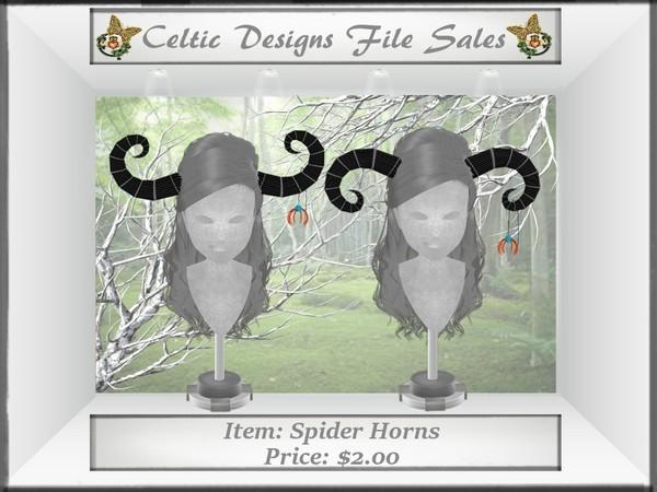 CD Spider Horns