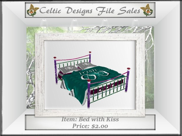 CD Bed with Kiss