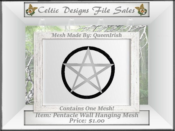 CD Pentacle Wall Hanging Mesh