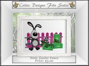 CD Easter Fence Mesh