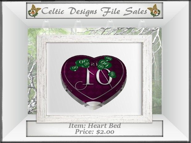CD Heart Bed