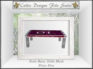 CD Basic Table Mesh