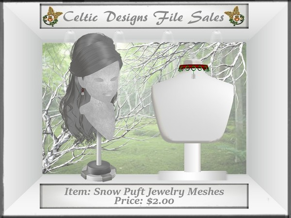 CD Snow Puft Jewelry Meshes